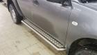 Установка автокунга для Mitsubishi L200